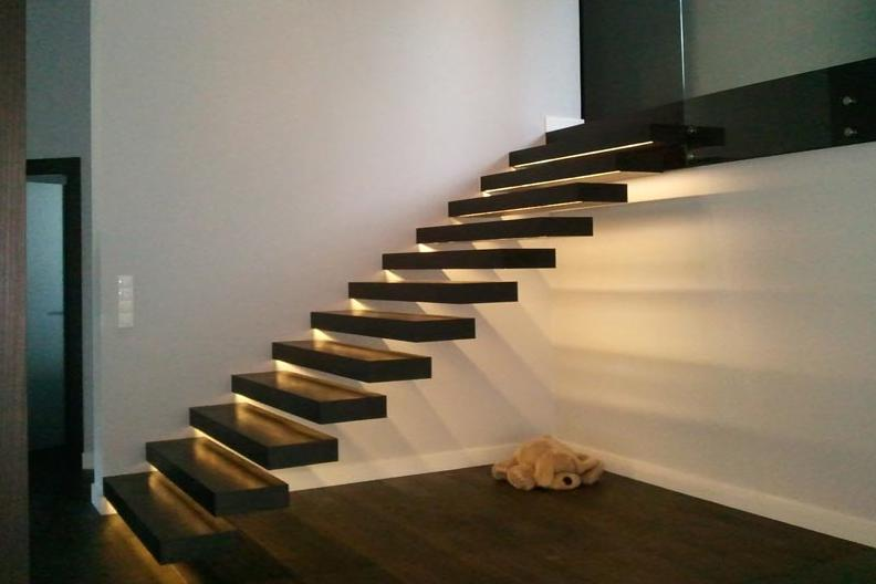 design treppe treppen schwebende stufen kragarmtreppen kragarmtreppe aktion13 ebay. Black Bedroom Furniture Sets. Home Design Ideas